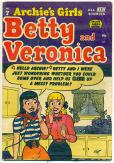 Archies Girls Betty and Veronica   #7