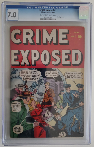Crime Exposed   #1