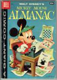 Dell Giant Mickey Mouse Almanac   #1