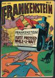 Frankenstein Comics   #6