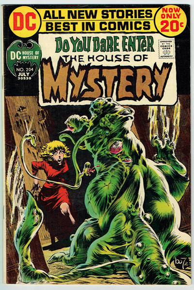 House of Mystery #204
