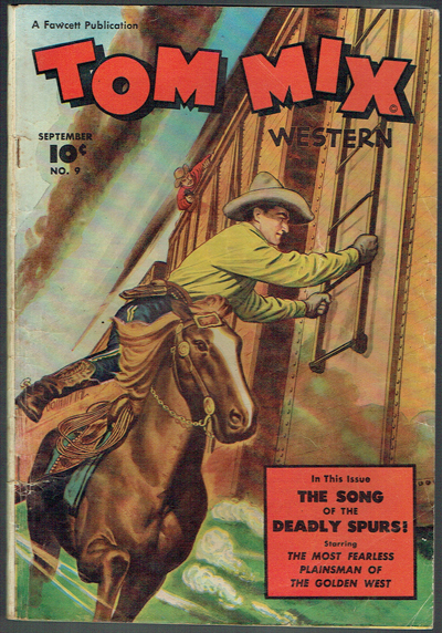 576247c7 Tom Mix Western #9 in 3.5