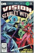Vision and The Scarlet Witch #1-4