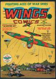 Wings Comics   #4