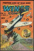 Wings Comics  #50