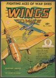 Wings Comics   #9